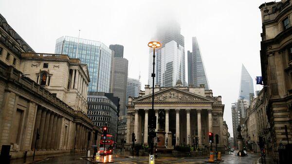 Здание Банка Англии в Лондоне