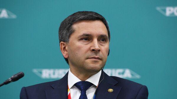 Министр природных ресурсов и экологии Российской Федерации Дмитрий Кобылкин