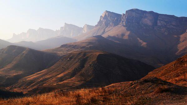 В горах Кабардино-Балкарии