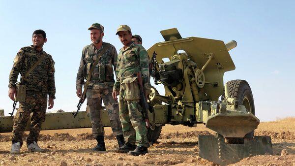 Сирийская армия на передовых позициях