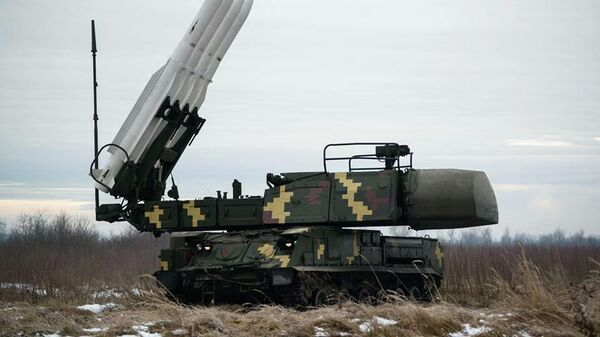 Украинский зенитный ракетный комплекс Бук-М1