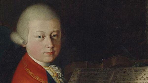 Портрет 13-летнего Моцарта, приписанный веронскому мастеру Джамбеттино Чиньяроли