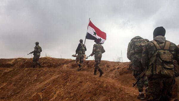 Подразделения сирийской армии