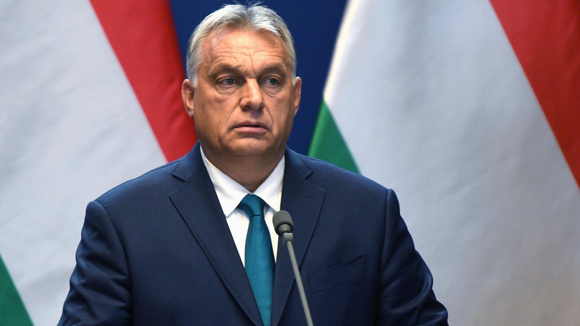 Премьер-министр Венгрии Виктор Орбан - РИА Новости, 1920, 01.10.2021