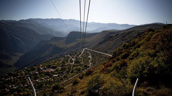 Канатная дорога Крылья Татева в Армении