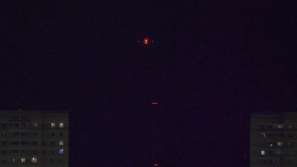 SSJ100 кружит в небе над Тюменью