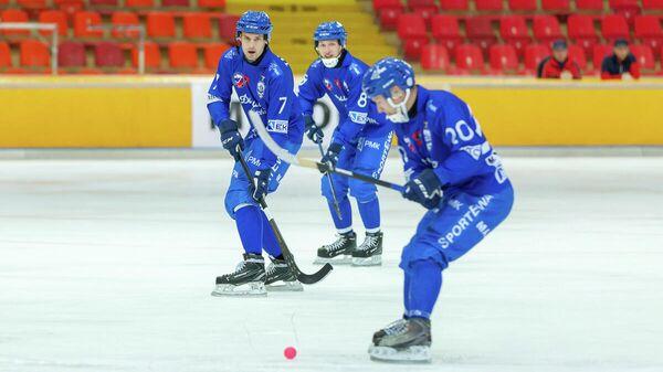 Игроки клуба по хоккею с мячом Динамо (Москва)