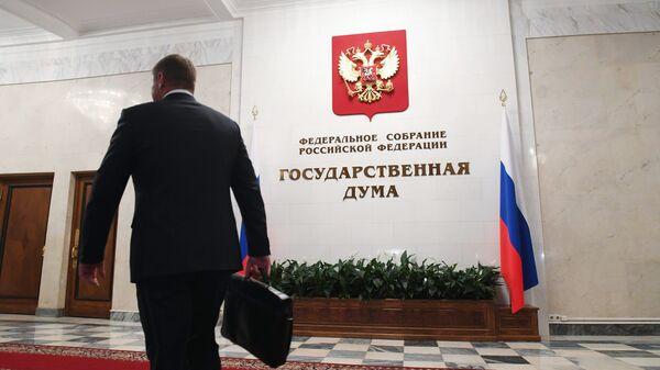 В здании Госдумы РФ. Архивное фото