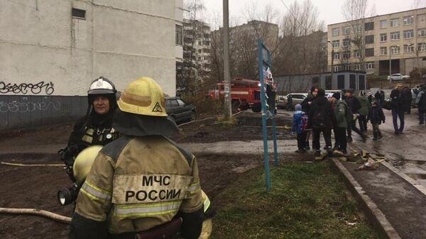 Пожар в многоэтажном доме в Уфе. 7 ноября 2019
