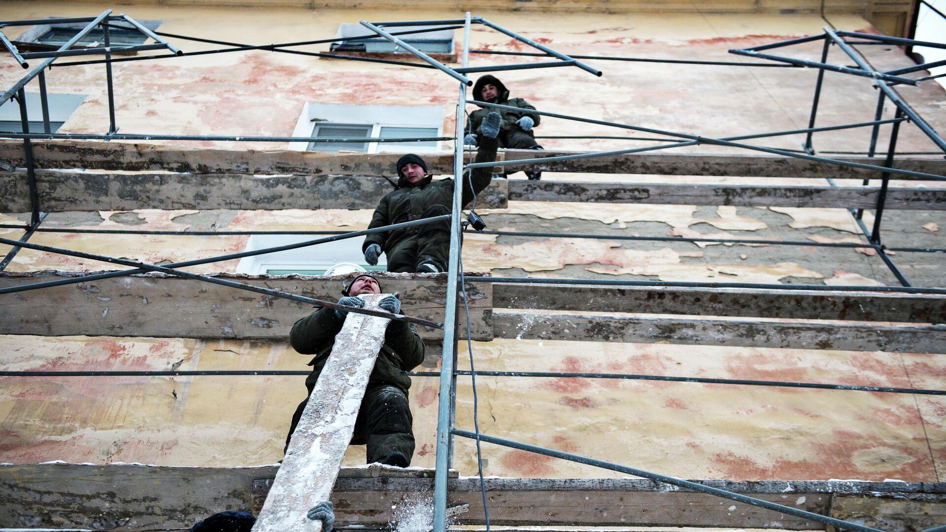 Капитальный ремонт жилья в Омске - РИА Новости, 1920, 27.05.2021