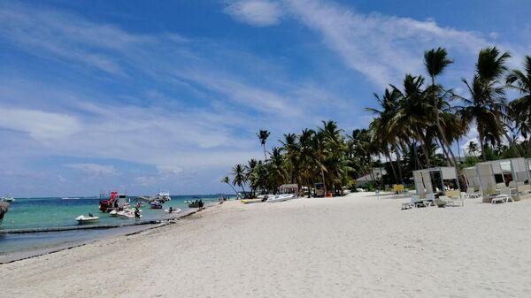 Доминикана. Пляж отеля Melia Punta Cana Beach Resort