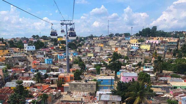 Доминикана. Санто-Доминго, вид с фуникулера