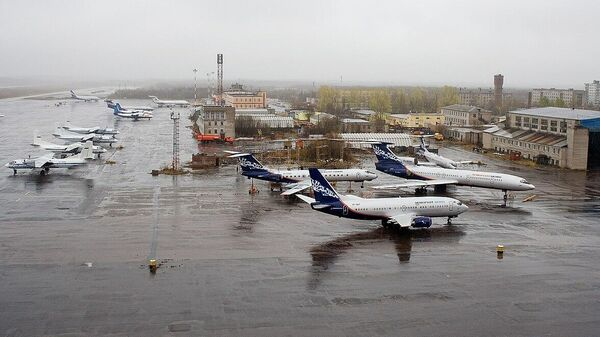 Аэропорт Талаги в Архангельске