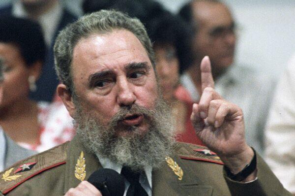Кастро назвал позитивной мерой присуждение Обаме Нобелевской премии