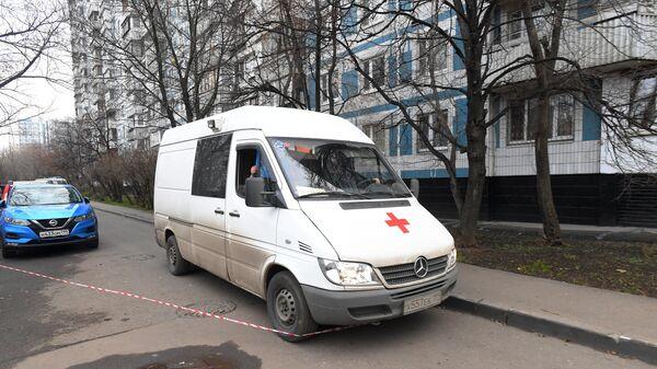 Ситуация на месте гибели женщины и ребенка в Москве
