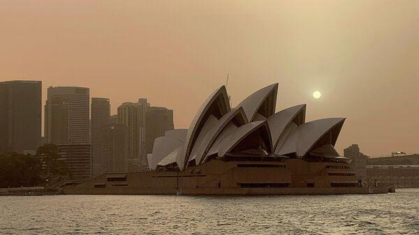 Ситуация в Сиднее из-за лесных пожаров