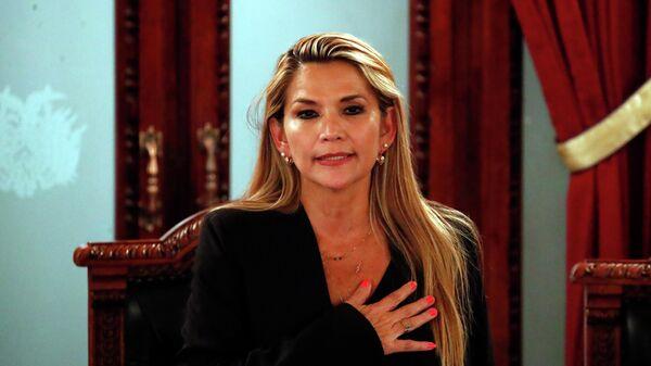 Экс-президент Боливии Жанин Аньес