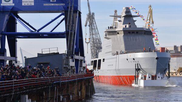 Патрульный корабль ледового класса Иван Папанин