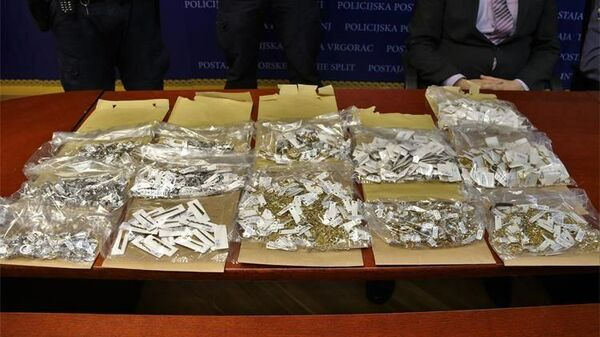 Пресс-конференция, посвященная уголовному делу в отношении граждан России, подозреваемых в краже в ювелирном магазине в хорватском Сплите