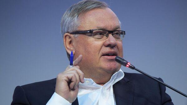 Президент-председатель правления Банка ВТБ Андрей Костин