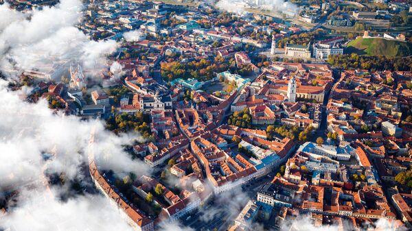 Вид на столицу Литвы