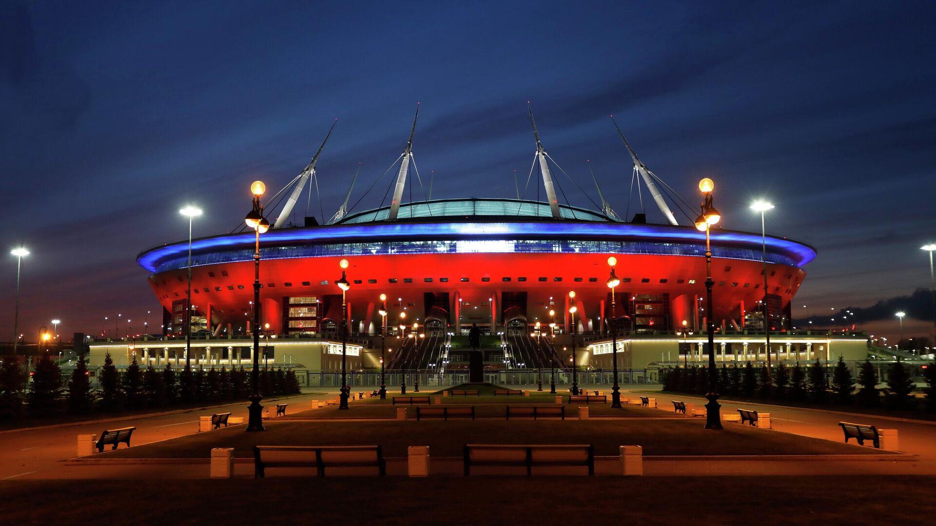 Стадион Арена Санкт-Петербург на Крестовском острове - РИА Новости, 1920, 31.03.2021