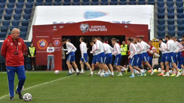 Жить спортом: отборочный матч к Евро-2020 Россия – Бельгия