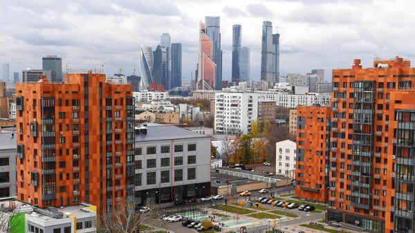 Московский международный деловой центр Москва-Сити в Москве