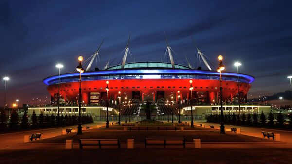 Стадион Зенита в Санкт-Петербурге