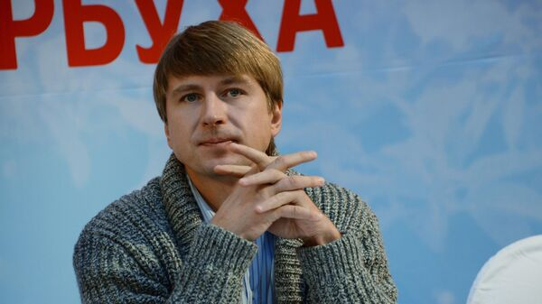 Олимпийский чемпион по фигурному катанию Алексей Ягудин