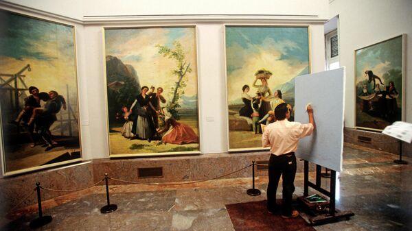 Музей Прадо. В зале Франсиско Гойи.