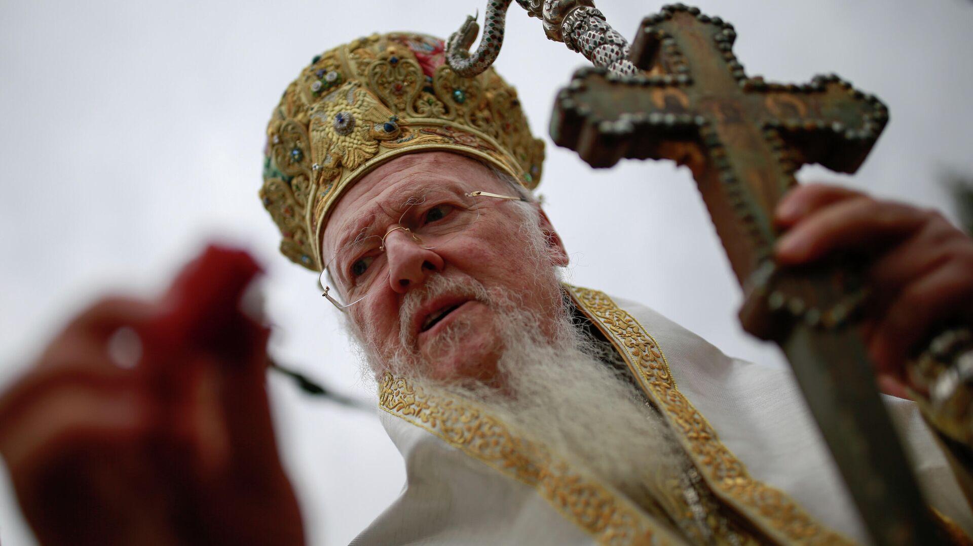 Патриарх Константинопольский Варфоломей - РИА Новости, 1920, 07.09.2020