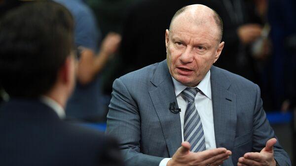 Президент, председатель правления компании ГМК Норильский никель Владимир Потанин на форуме ВТБ Капитал Россия зовет!