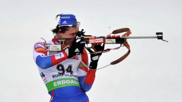 Дмитрий Ярошенко в индивидуальной гонке на 20 км