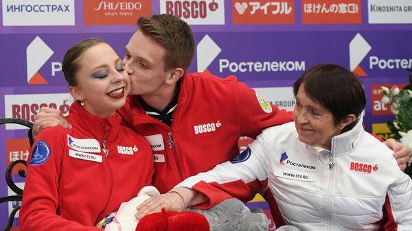 Александра Бойкова (слева), Дмитрий Козловский и Тамара Москвина