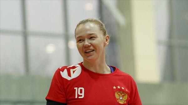 Игрок сборной России по гандболу Ксения Макеева