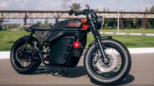 Прототип мотоцикла Калашникова