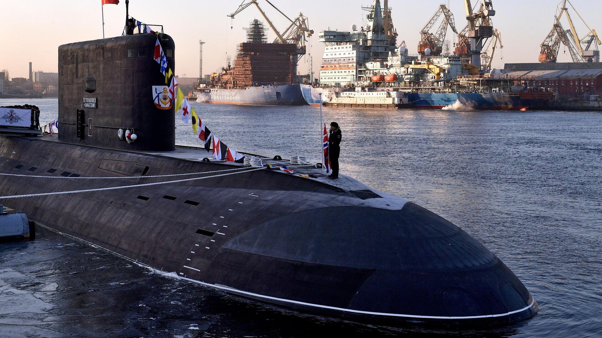 Дизель-электрическая подводная лодка Петропавловск-Камчатский - РИА Новости, 1920, 28.08.2020