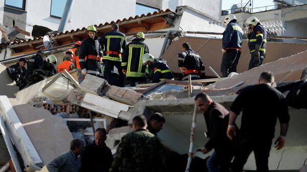 Последствия землетрясения в Албании