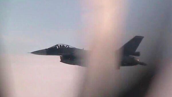 Истребители ВВС Южной Кореи и Японии сопроводили стратегические ракетоносцы Ту-95МС ВКС России во время плановых полетов над нейтральными водами Японского, Желтого и Восточно-Китайского морей