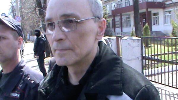 Олег Рыльков во время оперативных действий