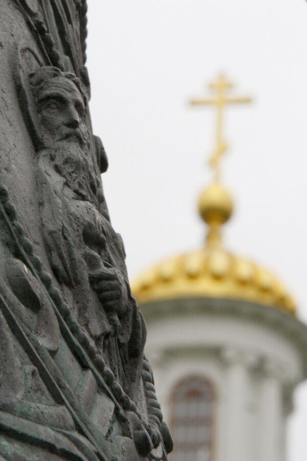Встреча Даниловских колоколов в Москве