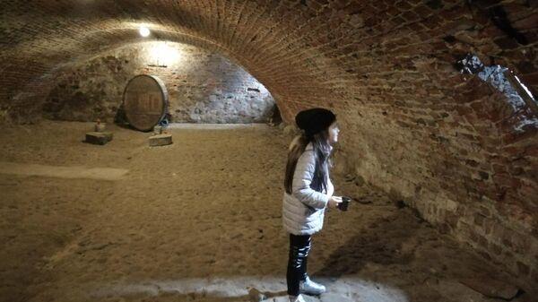 Подвал замка Вальдау
