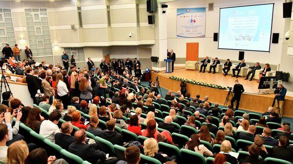 Международный научно-практический форум Российская неделя здравоохранения в ЦВК Экспоцентр