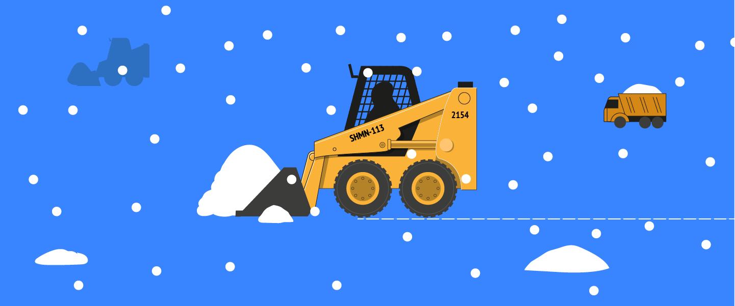 Как быстро уберут снег на вашей улице
