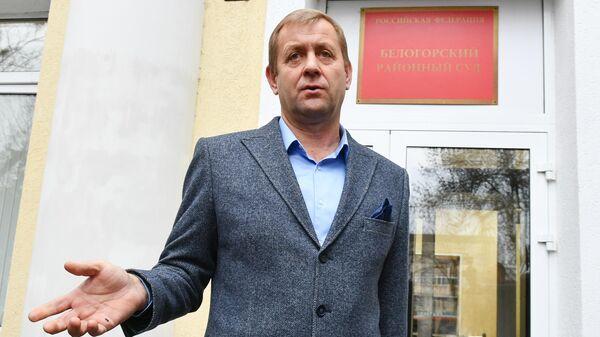 Владелец парка Тайган Олег Зубков