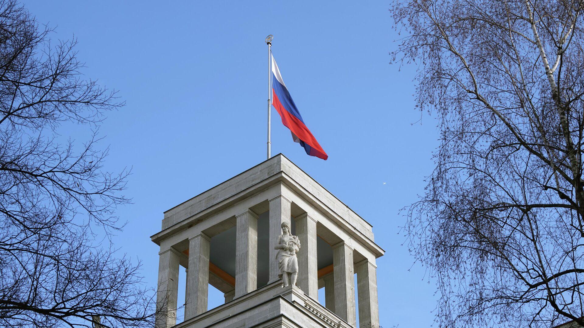 Здание посольства Российской Федерации в Берлине - РИА Новости, 1920, 18.06.2020