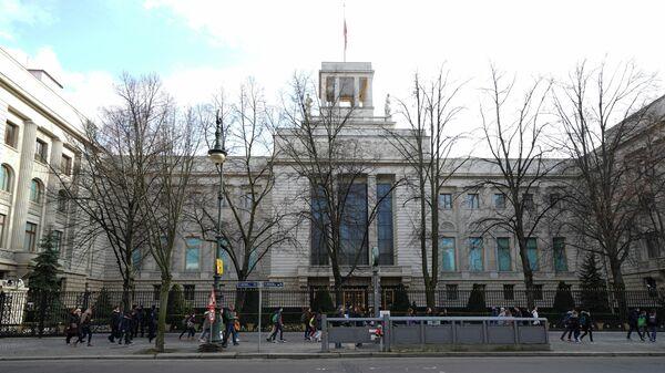 Здание посольства Российской Федерации в Берлине