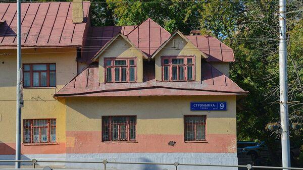 Дом из термолита на Стромынке