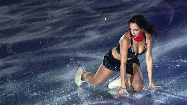 Елизавета Туктамышева участвует в показательных выступлениях финала Гран-при по фигурному катанию в Ванкувере